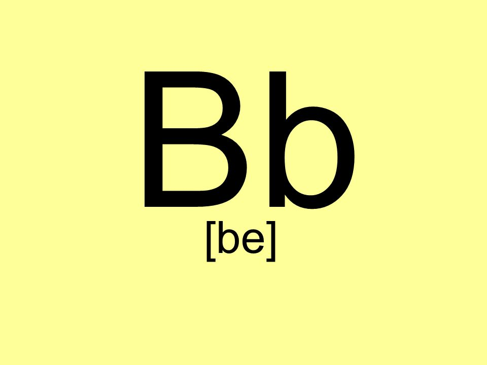 Bb [be]